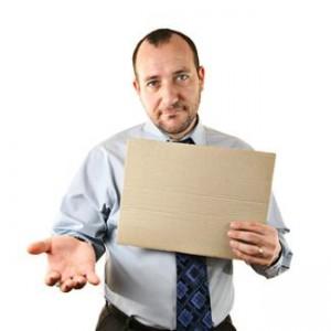 a businessman holding a folder